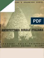 Pagano G. Daniel G. Architettura Rurale Italiana (Milano Hoepli 1936)