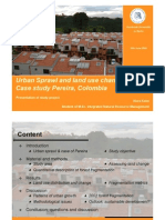 Koim 2009 Case Study Urban Sprawl Colombia