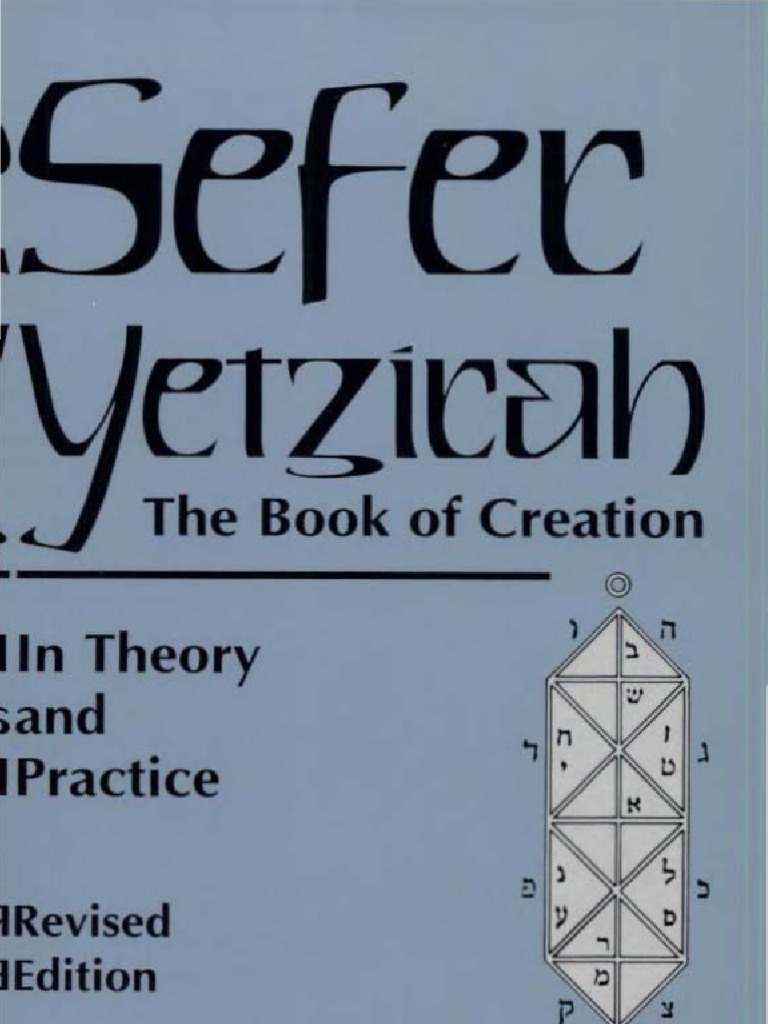 Sefer yetzirah the book of creation aryeh kaplan version sefer yetzirah the book of creation aryeh kaplan version jews and judaism hebrew words and phrases buycottarizona