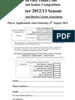 EPTC Senior Team Application Summer12-13
