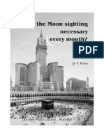 Is the Moon Sighting Necessary Every Month?