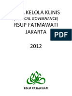 Dody Firmanda 2012 - Tata Kelola Klinis (Clinical Governance) RSUP Fatmawati Jakarta