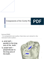 (RestoDent) Components of Cavity Prep