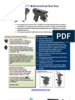 Multi Functional Stun Gun Defensetechs