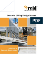 CONCRETE LIFTING DESIGN MANUAL