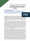 O Brasil como potência regional e a importância estratégica da América do Sul na sua política exterior