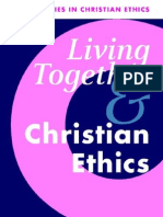 Living Together and Christian Ethics New Studies in Christian Ethics