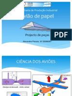 Avião de papel - ppt