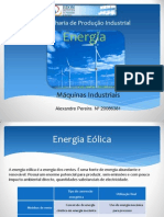 Energia Eólica - ppt