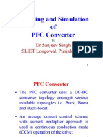 Modeling and Simulation of PFC Converters