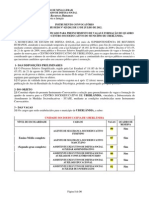 Instrumento convocatorio nº 025-2012 - uberlandia suase