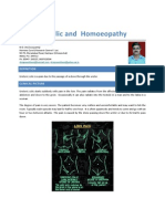 Ureteric Colic and Homoeopathy