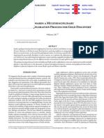 Towards a Multidisciplinary