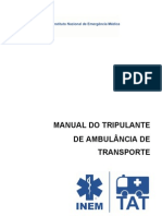 Manual - Tripulante de Ambulancia de Transporte