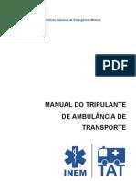 Manual - Tripulante de Ambulancia de Transporte