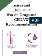 Informe Sombra, para la CEDAW por Justicia para Nuestras Hijas, el Centro de Derechos Humanos de las Mujeres y Mukira AC