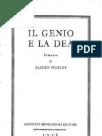 Il Genio E La Dea - Aldous Huxley