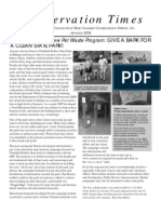 2008 Connecticut Conservation Times Newsletter