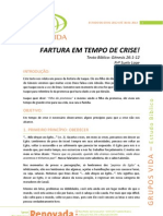 2012-01-03 - GV - Estudo Bíblico - Fartura em tempo de crise