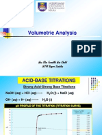 Volumetric Analysis (CHAPTER 5)