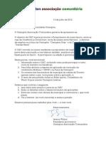 OK Cover Letter Portuguese