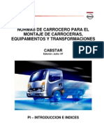 Manual Nissan Especificaciones