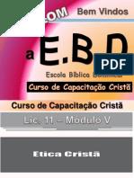 A Ética Cristã Pessoal