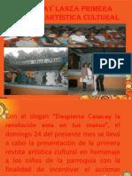CASACAY LANZA PRIMERA REVISTA ARTÍSTICA CULTURAL