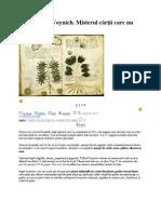 Manuscrisul Voynich
