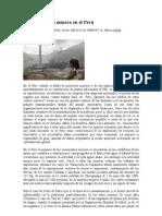 Contaminación minera en el