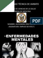 Informe de Patologias Mentales