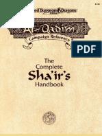Al-Qadim - The Complete Sha'Ir's Handbook