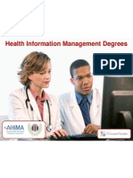 CAHIIM Accredited Online Programs + AHIMA RHIT & RHIA Certifications