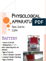 Physiological Apparatus