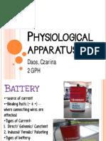 Physiological Apparatus