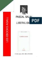 Libéralisme - Pascal Salin