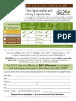 2012 Sponsor Info