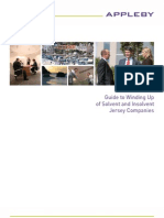 Guide to Winding Up of Solvent and Insolvent Jersey Companies (January 2011)