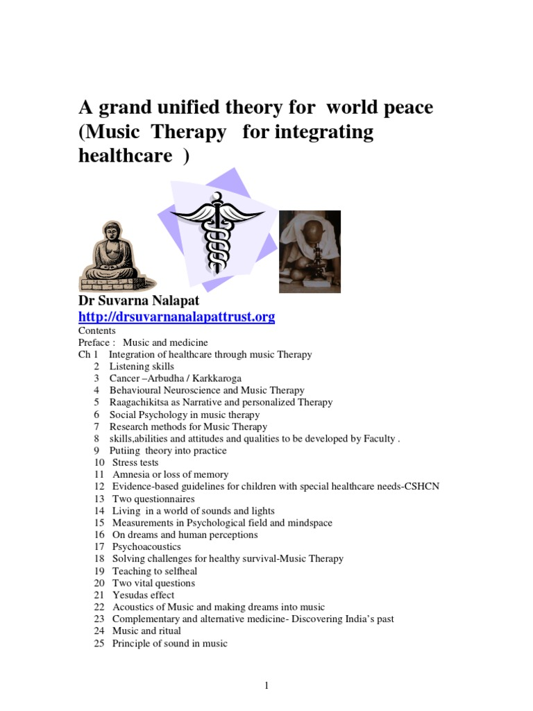 Grand unification for world peace music therapy for integrating grand unification for world peace music therapy for integrating healthcare pdf alternative medicine pop culture biocorpaavc Images