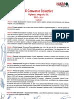 IX Convenio Colectivo Vigilancia Integrada 2012-2014