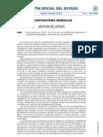 Real Decreto-ley 20/2012, de 13 de julio, de medidas para garantizar la estabilidad presupuestaria y de fomento de la competitividad.
