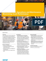 Optimized Asset Operations and Maintenance Maximizing Asset Performance