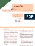 AJAX for Designers