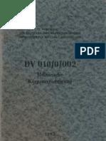 Militärische Körperertüchtigung - DV 10/0/002 - 1985