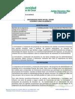 Contenido Asignatura Formulacion y Evaluacion de Proyectos Ec114 (1)