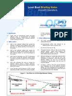Altimeter Settings Procedures