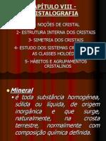 GEOLOGIA (8) (9) - CRISTALOGRAFIA ... MINERALOGIA