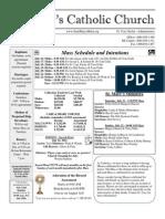 Bulletin - 7-15-2012