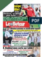 LE BUTEUR PDF du 15/07/2012