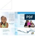 Save our Water Brochure